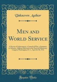 Men and World Service by Unknown Author image