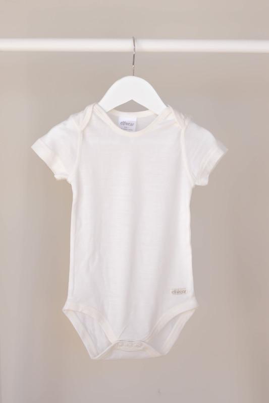 Elfwear: Merino Short Sleeve Bodysuit - (6-9m)