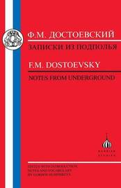Notes from the Underground by F.M. Dostoevsky image