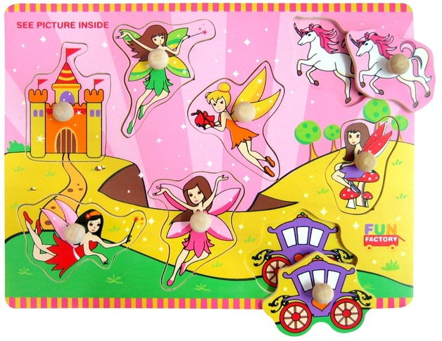 Fun Factory - Fairy Puzzle With Knobs