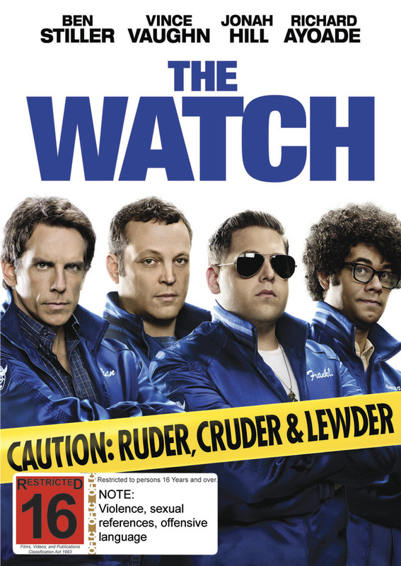 The Watch on DVD