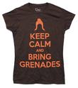 Firefly Keep Calm and Bring Grenades Women's T-Shirt - Medium
