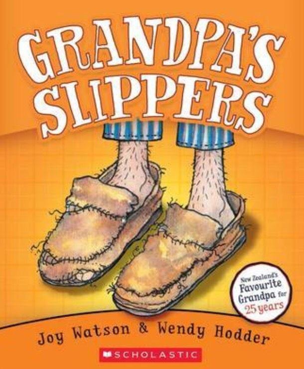 Grandpa's Slippers by Joy Watson image