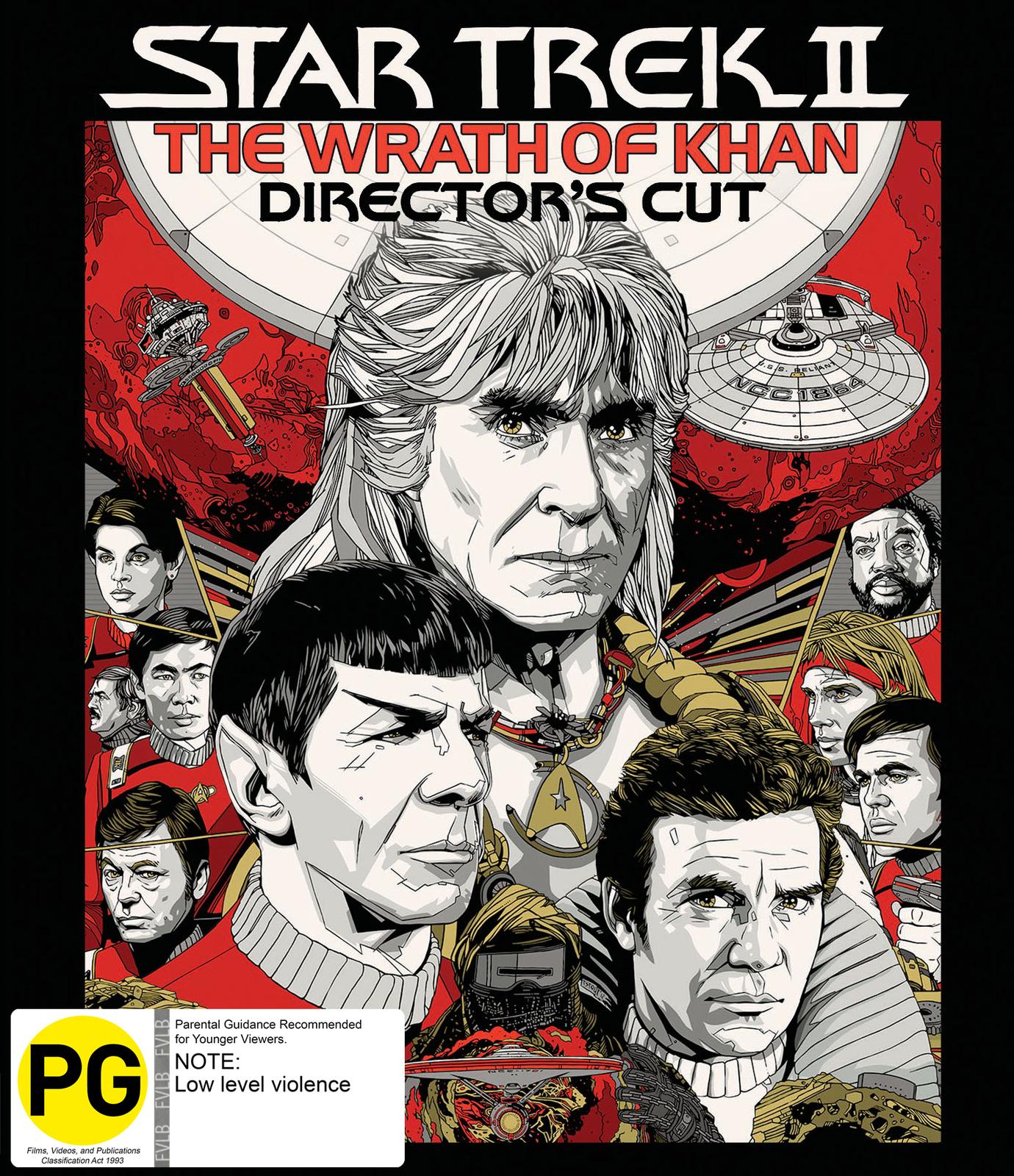 Star Trek 2 - The Wrath Of Khan (Director's Cut Edition) on Blu-ray image