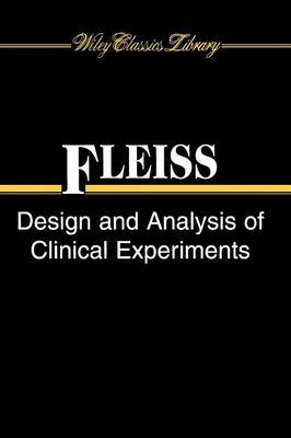 Design and Analysis of Clinical Experiments by Joseph L. Fleiss