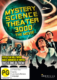 Mystery Science Theatre 3000: The Movie on DVD