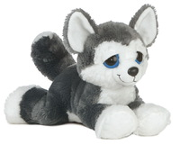 Aurora: Dreamy Eyes Plush - Blue Husky