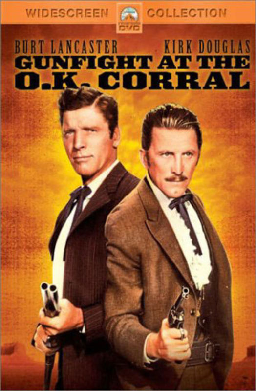 Gunfight at the OK Corral on DVD