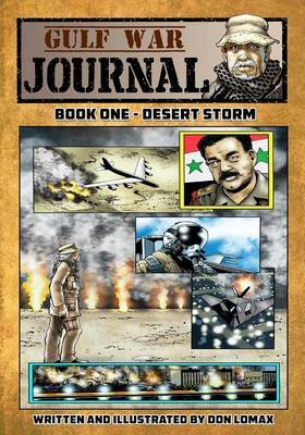 Gulf War Journal - Book One by Don Lomax image