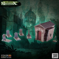 ColorED Scenery: Graveyard Set