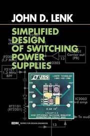 Simplified Design of Switching Power Supplies by John D Lenk image