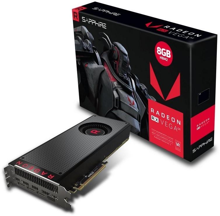 Sapphire Radeon RX VEGA 64 8GB Graphics Card image