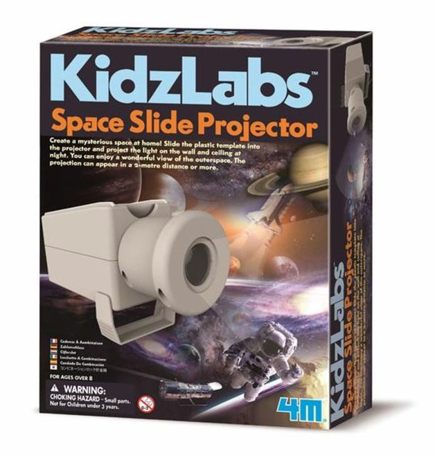 4M: Kidz Labs - Space Slide Projector