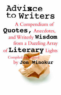 Advice To Writers by Jon Winokur image