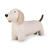 Zuny: Bookend Classic Dachshund Wheat