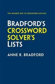 Collins Bradford's Crossword Solver's Lists by Anne R Bradford