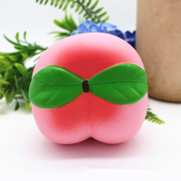 I Love Squishy: Peach Squishie Toy (10cm)