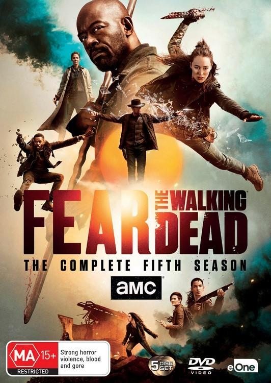 Fear the Walking Dead - The Complete Fifth Season on DVD image