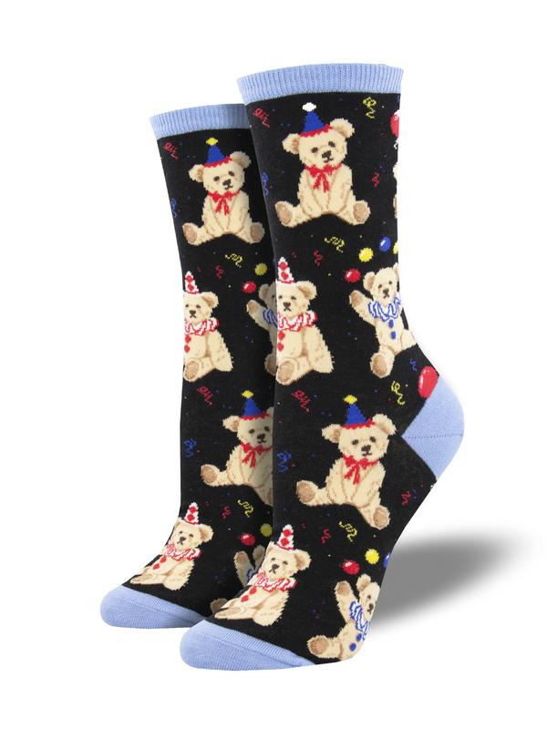 Socksmith: Party Bear - Black