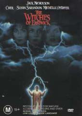 The Witches Of Eastwick on DVD