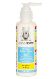 Made4baby All Over Moisturising Lotion 150mL Organic Citrus