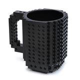 Build on Brick Mug - Black