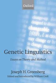 Genetic Linguistics by Joseph H. Greenberg image