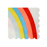 Meri Meri - Rainbow Napkins Small (20 Pack)