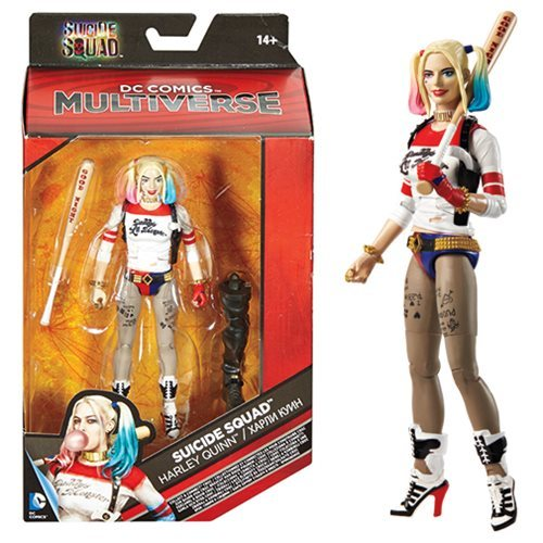 "DC Multiverse: Suicide Squad - 6"" Harley Quinn Action Figure image"