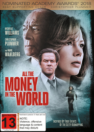 All The Money in The World on DVD