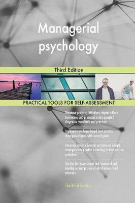 Managerial Psychology Third Edition by Gerardus Blokdyk image