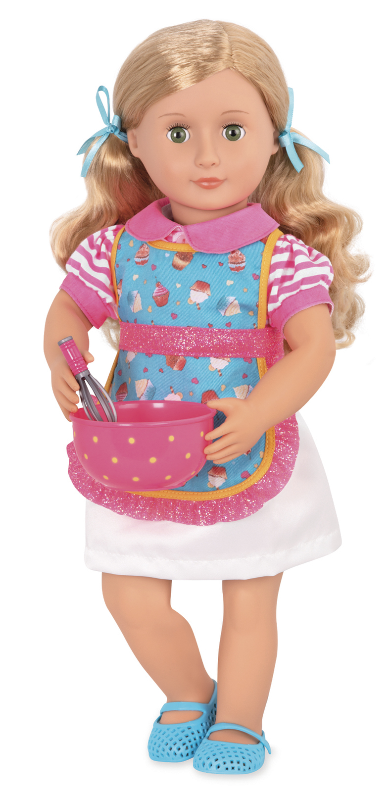 """Our Generation: 18"""" Deluxe Doll & Book - Jenny image"""