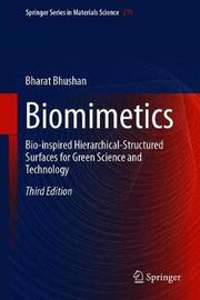 Biomimetics by Bharat Bhushan