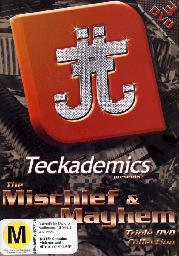 Destroy Collection #1 (Mischief & Mayhem)  - Teckademics (3 Disc Box Set) on DVD image