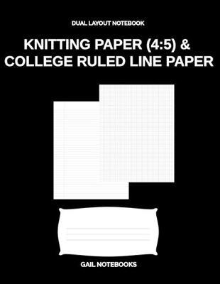 Knitting Paper (4 by Gail Notebooks