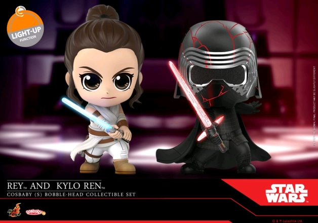 Star Wars: Rey & Kylo Ren - Cosbaby Figure Set