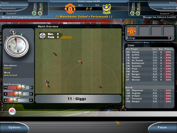 Total Club Manager 2005 for PlayStation 2 image
