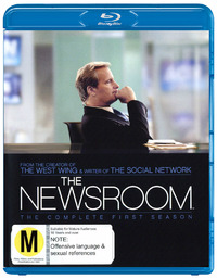 The Newsroom - The Complete First Season on Blu-ray
