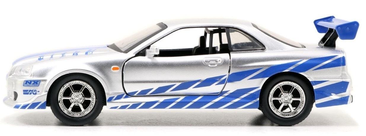 Jada 1 32 Nissan Skyline Gt R R34 Diecast Model Images