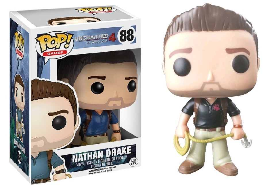 Uncharted 4 - Nathan Drake (Naughty Dog) Pop! Vinyl Figure image