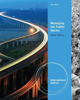 Managing the Public Sector, International Edition by Grover Starling image