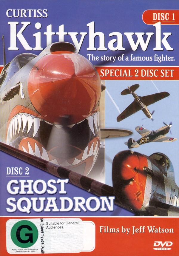 Curtiss Kittyhawk (2 Disc) on DVD image