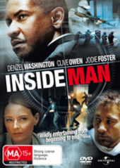 Inside Man on DVD