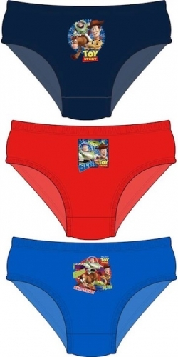 Disney: Toy Story Boys Hipster Briefs 3pp - 2-3 image