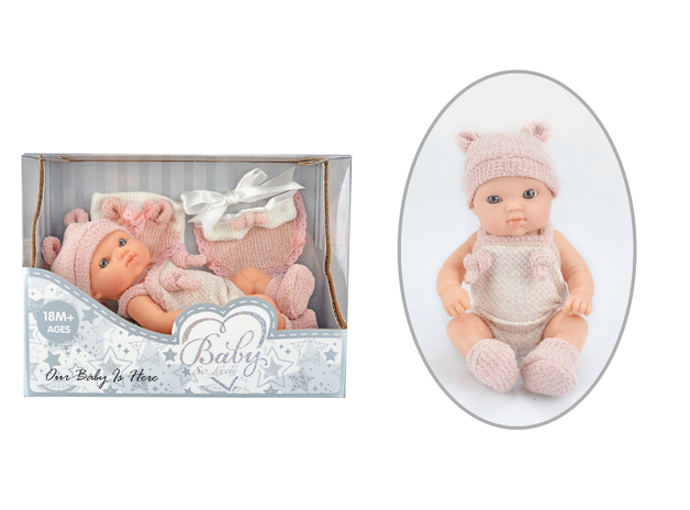 Baby So Lovely: Newborn Baby with Accessories - Girl