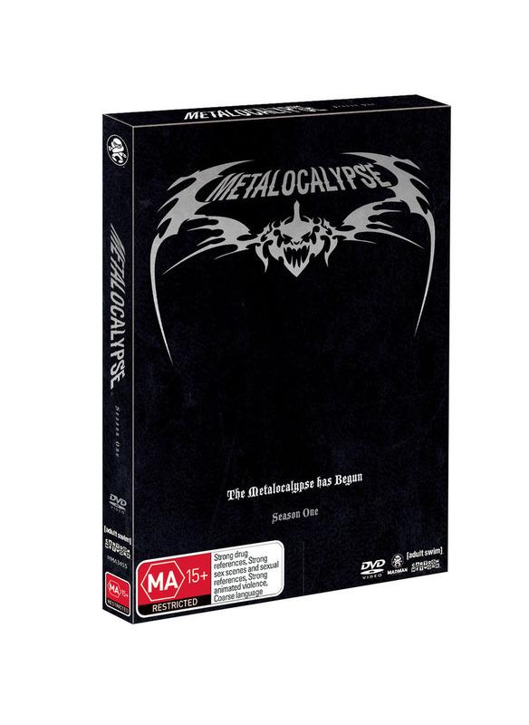 Metalocalypse - Season 1 on DVD