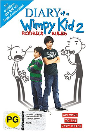 Diary Of A Wimpy Kid 2: Rodrick Rules on DVD