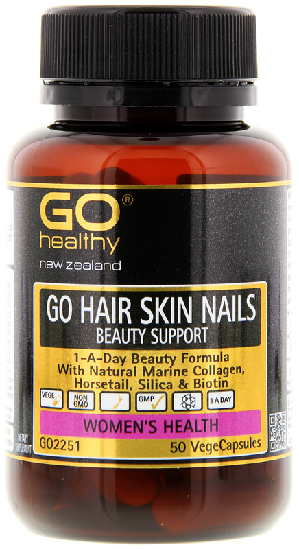 Go Healthy GO Hair Skin Nails (50 Capsules)