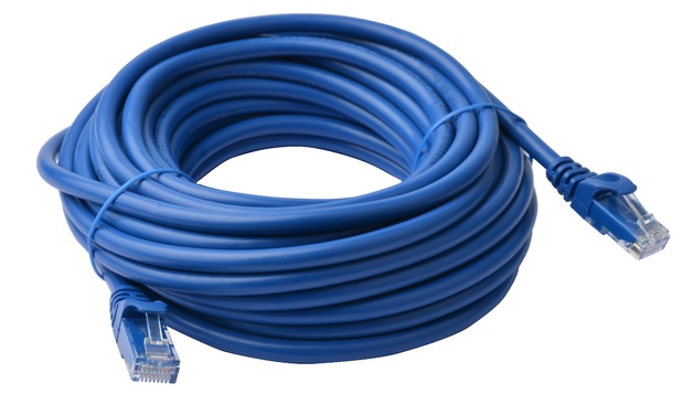 8ware: Cat 6a UTP Ethernet Cable Snagless - 10m (Blue)