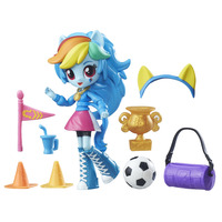 My Little Pony: Equestria Girls Minis - Rainbow Dash - School Pep Rally set